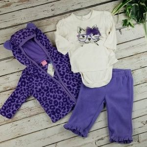 Children's Place Fleece Outfit